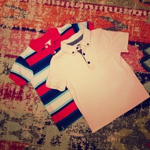 Boys Bundled Multi-Colored Polo Shirts